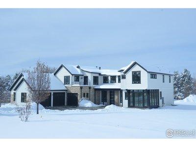 Niwot Single Family Home For Sale: 6801 Goldbranch Dr