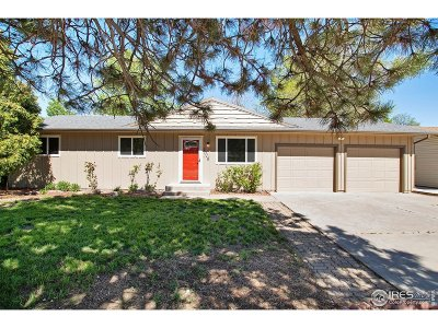 Larimer County Single Family Home For Sale: 3016 Custer Ave