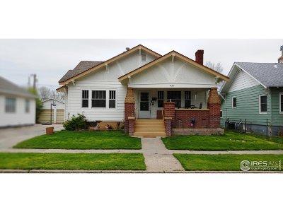 Sterling Single Family Home For Sale: 420 Denver St
