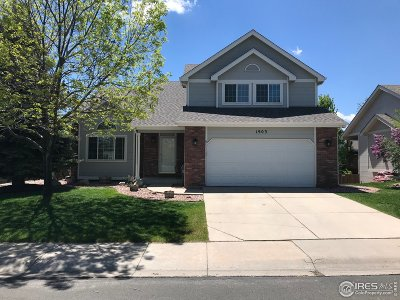 Fort Collins Single Family Home Active-Backup: 1903 Mesaview Ln