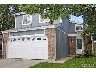 Longmont Single Family Home For Sale: 1900 Juniper St