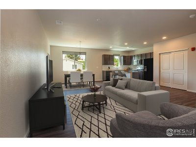 Fort Collins Condo/Townhouse For Sale: 3503 Big Ben Dr #D