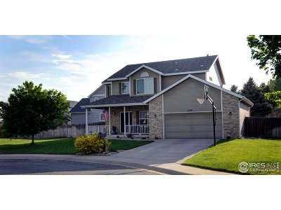 Greeley Single Family Home For Sale: 2381 43rd Ave Ct
