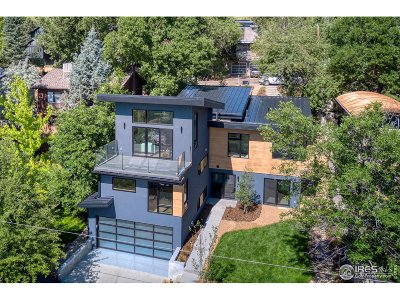 Boulder CO Single Family Home For Sale: $2,575,000
