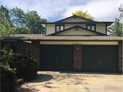 Boulder Single Family Home For Sale: 6881 Harvest Rd