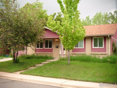 Boulder Single Family Home For Sale: 4125 Gilpin Dr