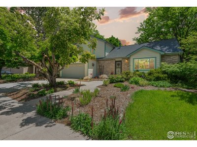 Fort Collins Single Family Home For Sale: 3900 Granite Ct