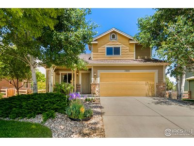 Loveland Single Family Home Active-Backup: 2885 Ariel Dr