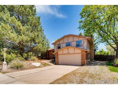 Longmont Single Family Home For Sale: 1534 Elmhurst Dr