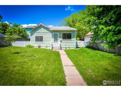 Fort Collins Single Family Home For Sale: 320 Cherry St