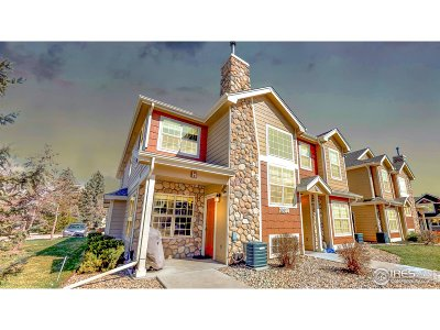 Fort Collins Condo/Townhouse For Sale: 1602 Robertson #H