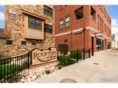 Fort Collins Condo/Townhouse For Sale: 220 Willow St #302