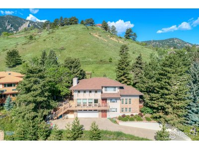 Boulder CO Single Family Home For Sale: $2,299,900