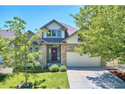 Longmont Single Family Home For Sale: 4611 Bella Vista Dr