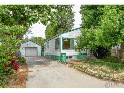Loveland Single Family Home For Sale: 1533 Monroe Ave