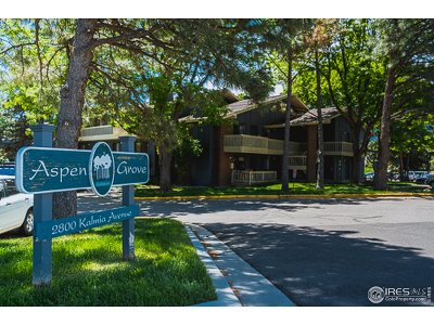 Boulder Condo/Townhouse Active-Backup: 2800 Kalmia Ave #A109