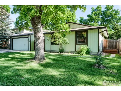 Fort Collins Single Family Home For Sale: 2024 Derby Ct