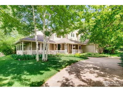 Niwot Single Family Home For Sale: 7136 Stable Dr