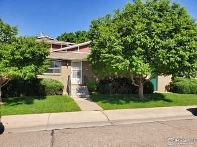 Greeley Condo/Townhouse For Sale: 732 27th Ave #1