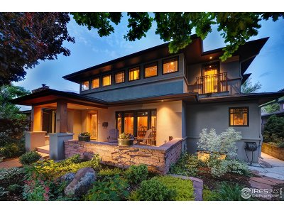 Boulder Single Family Home For Sale: 770 Lincoln Pl