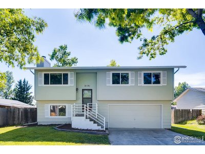 Fort Collins Single Family Home For Sale: 3121 Camelot Dr