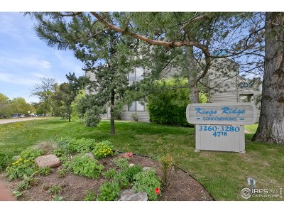 Boulder Condo/Townhouse For Sale: 3260 47th St #109