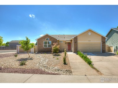 Greeley Single Family Home For Sale: 1617 51st Ave
