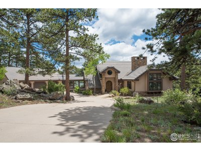 Estes Park Single Family Home For Sale: 1340 Tall Pines Dr