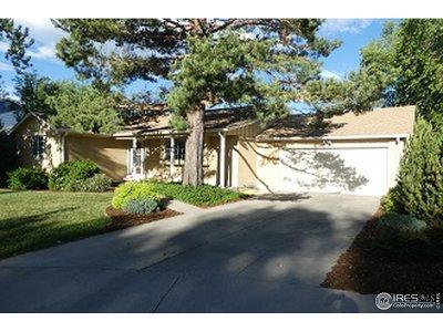 Boulder Single Family Home For Sale: 4719 Ashfield Ct
