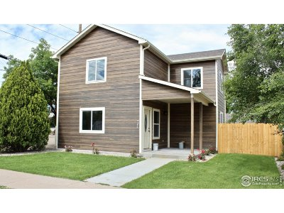 Greeley Single Family Home For Sale: 1015 4th Ave