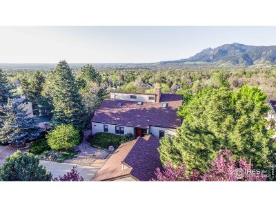 Boulder Single Family Home For Sale: 3767 Orange Ln