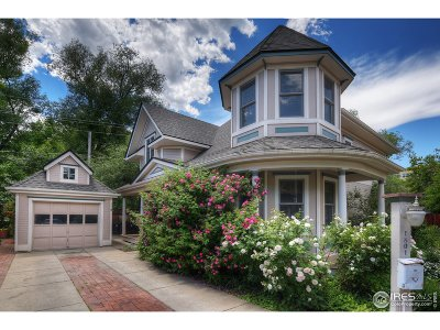 Boulder Single Family Home For Sale: 1801 Walnut Hollow Ln