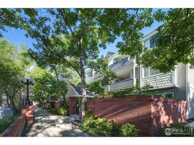 Boulder Condo/Townhouse For Sale: 2201 Pearl St #225