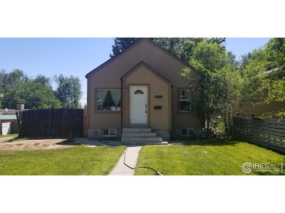 Greeley Single Family Home For Sale: 1628 6th Ave