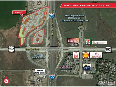 Fort Collins Residential Lots & Land For Sale: Nwc I-25 & 392