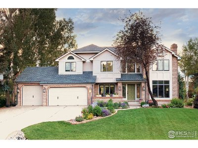 Niwot Single Family Home For Sale: 6933 Springhill Dr