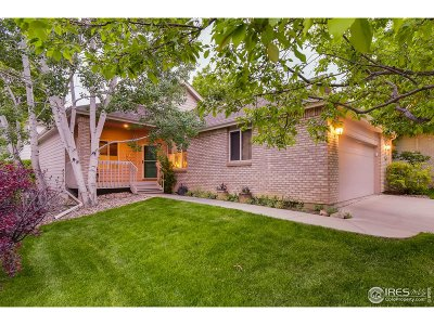 Boulder Single Family Home For Sale: 5032 Coventry Ct