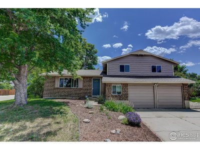 Longmont Single Family Home For Sale: 1602 S Pratt Pkwy