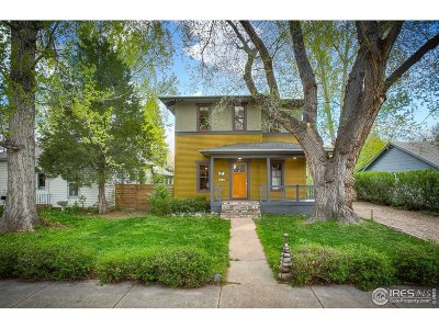 Fort Collins Single Family Home For Sale: 404 S Washington Ave