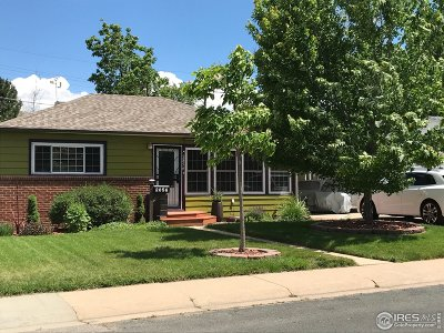 Boulder Single Family Home For Sale: 2856 Elm Ave