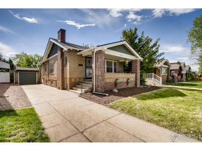 Denver Single Family Home For Sale: 2077 S Corona St