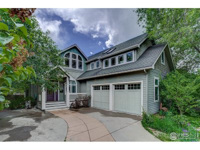 Boulder Single Family Home For Sale: 2830 13th St