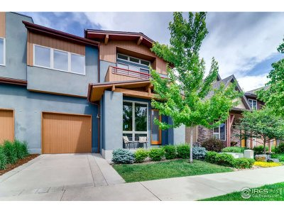 Boulder Condo/Townhouse For Sale: 3784 Ridgeway St