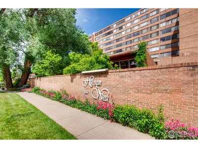 Boulder Condo/Townhouse For Sale: 1850 Folsom St #711