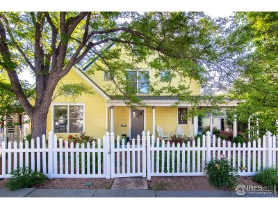 Boulder Single Family Home For Sale: 2150 24th St