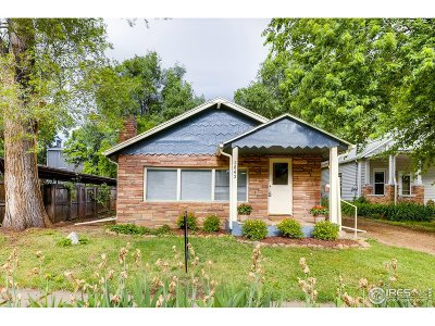 Boulder Single Family Home For Sale: 1843 23rd St