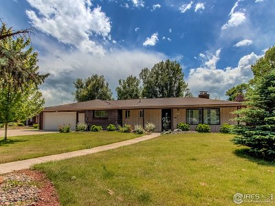 Longmont Single Family Home For Sale: 1231 Fordham St