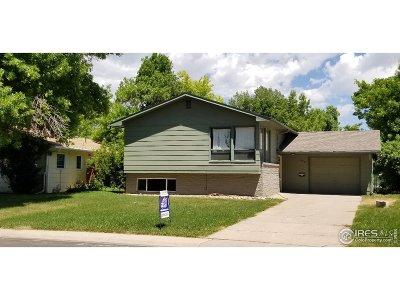 Fort Collins Single Family Home For Sale: 1908 Larkspur Dr
