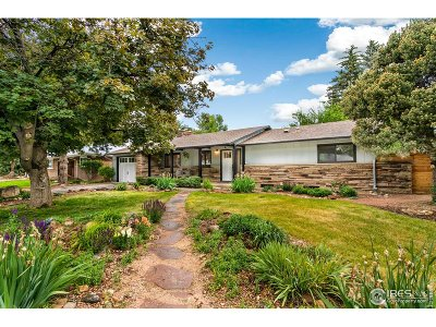 Fort Collins Single Family Home For Sale: 1304 Welch St