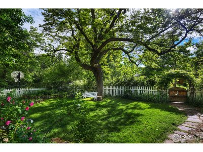 Boulder Single Family Home For Sale: 3046 11th St